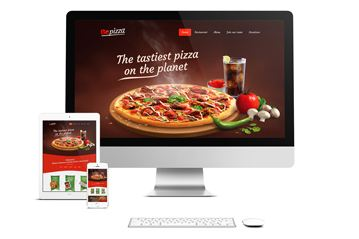 WordPress Theme – Be Pizza