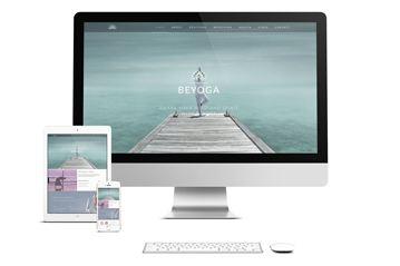 WordPress Theme – Be Yoga