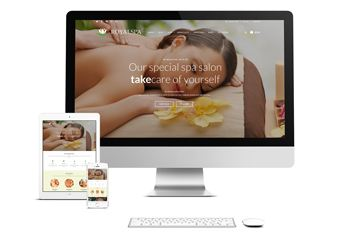 WordPress Theme – Royal Spa