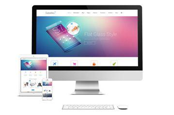 WordPress Theme – Satellite 7