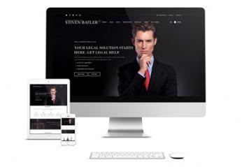 WordPress theme – Stiven Balter